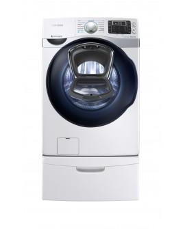 Samsung Lavasecadora con acceso frontal, tecnología Add Wash y capacidad de 20 kg Blanco