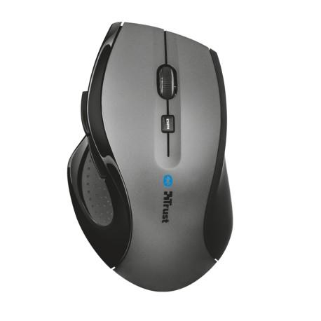 Trust Mouse Maxtrack Bluetooth Gris/Negro - Envío Gratuito