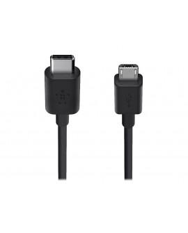 Belkin Cable Micro USB a USB C 1.8 m F2CU033BT06 Negro