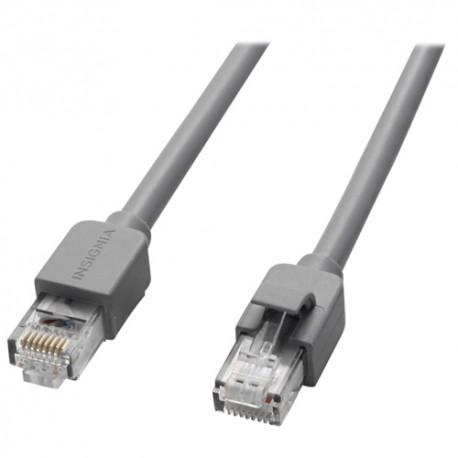 Insignia Cable de red CAT5E 1.8 m Negro - Envío Gratuito