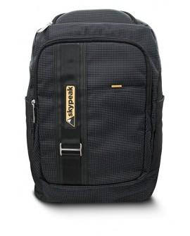 """Skypeak Backpack Dots de 15.6"""" Negro"""