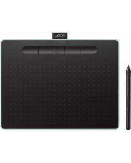 Wacom Tableta Intuos Comfort Plus (mediana) Negro/Verde - Envío Gratuito