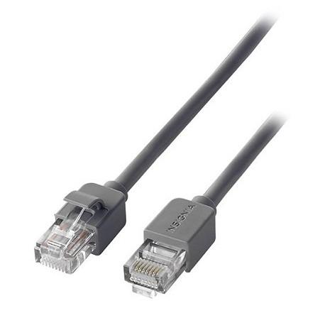 Insignia Cable de red CAT5E 7.6 m Negro - Envío Gratuito