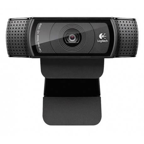 Logitech Webcam Pro HD C920 Negro - Envío Gratuito