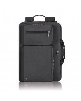 "Solo Maletin Backpack Urban Hybrid 15.6"" Negro"