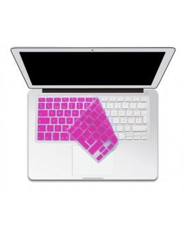 Boba Protector para teclado MB/MBP Rosa
