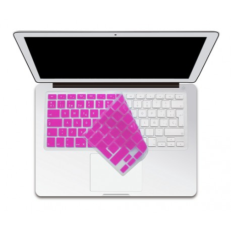 Boba Protector para teclado MB/MBP Rosa - Envío Gratuito