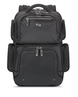 "Solo Backpack Lexington hasta 15.6"" Negro"