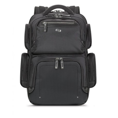 "Solo Backpack Lexington hasta 15.6"" Negro - Envío Gratuito"