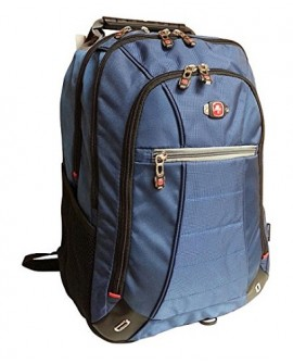 "Swiss Gear Backpack Gear SkyWalk Deluxe 16"" Azul/Negro"