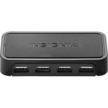 Insignia HUB 4 puertos USB 2.0 Negro - Envío Gratuito