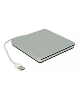 Apple Superdrive Plata