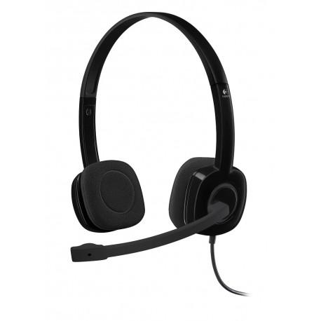 Logitech Diadema H151 Stereo Negro - Envío Gratuito