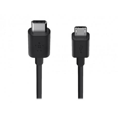 Belkin Cable Micro USB a USB-C 1.8 m F2CU033BT06 Negro - Envío Gratuito