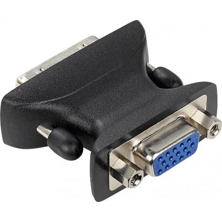 Insignia Adaptador DVI-A a VGA Negro - Envío Gratuito
