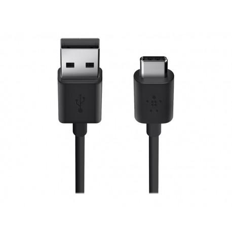 Belkin Cable USB-A 2.0 a USB-C 1.8 m F2CU032BT06 Negro - Envío Gratuito