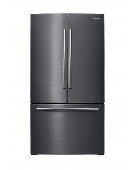 Samsung Refrigerador French Door de 26 pies cúbicos Acero inoxidable negro
