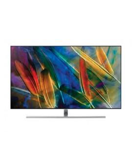 "Samsung Pantalla de 55"" QLED Smart TV Plana 4K Plata - Envío Gratuito"