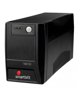 Smartbitt No Break 750 VA 6 contactos Negro - Envío Gratuito