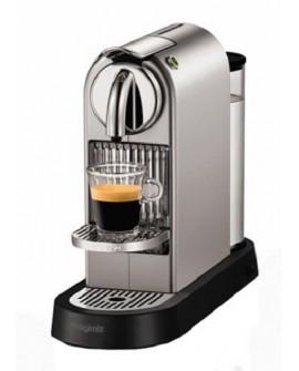 Nespresso Máquina de Café Nespresso Citiz Chrome Titanio