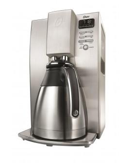 Oster Cafetera programable Gourmet capacidad 10 tazas Acero Inoxidable