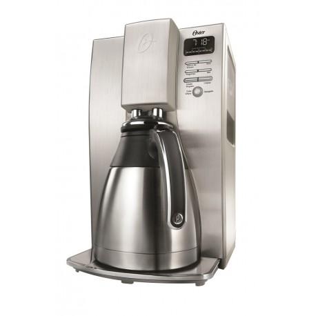 Oster Cafetera programable Gourmet capacidad 10 tazas Acero Inoxidable - Envío Gratuito