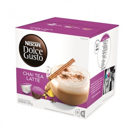 Nestlé Cápsulas Nescafé Dolce Gusto Chai Tea Latte - Envío Gratuito