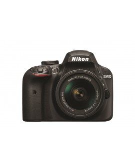 Nikon Cámara D3400 AF-P 18-55 DX VR Negra - Envío Gratuito