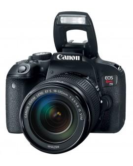 Canon Cámara EOS T7i EF-S 18-135 mm IS STM Negro - Envío Gratuito