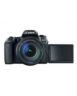 Canon Cámara EOS 77D EF-S 18-135mm IS USM Negro - Envío Gratuito