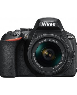 Nikon Cámara D5600 AF-P DX 18-55mm VR Negro - Envío Gratuito