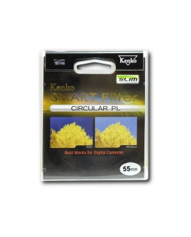 Kenko Filtro Polarizado para cámaras 58mm Negro - Envío Gratuito