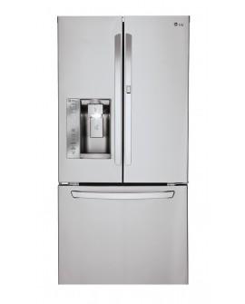 LG Refrigerador de 25Pies cúbicos con Congelador Inferior Raptor Acero Inoxidable