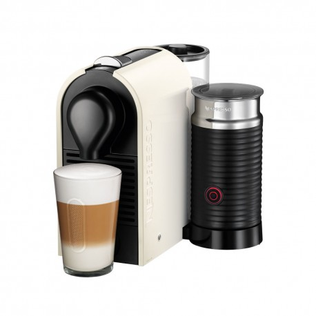 Nespresso Máquina de Café U&Milk Cream - Envío Gratuito