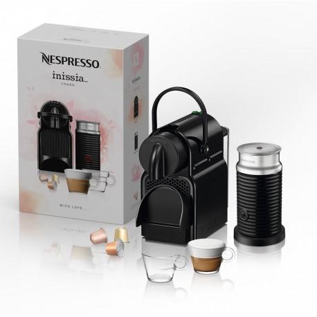 Nespresso Combo Inissia Negro Con Tazas - Envío Gratuito