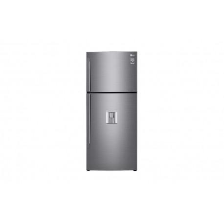 Lg Refrigerador 15 Pies Cúbicos Compresor Linear Inverter Platinum Silver - Envío Gratuito