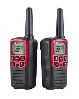 Midland Radio de dos vías T31VP 26 millas Negro/Rojo - Envío Gratuito