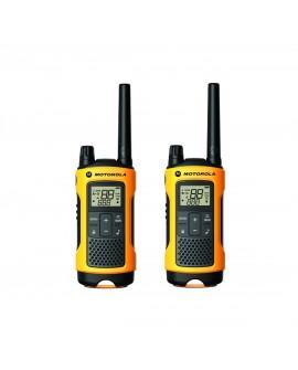 Motorola Radio de dos vías T400MC Amarillo - Envío Gratuito
