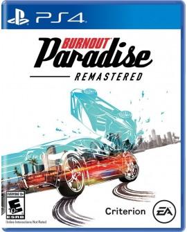 PS4 Burnout Paradise Carreras /Aventura - Envío Gratuito