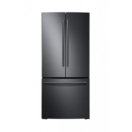 Samsung Refrigerador de 22 pies cúbicos y 3 puertas Negro - Envío Gratuito