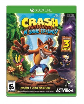 Xbox One Crash Bandicoot N-Sane Trilogy Aventura - Envío Gratuito