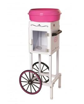 Nostalgia Estación de algodón de azúcar Blanco rosa - Envío Gratuito