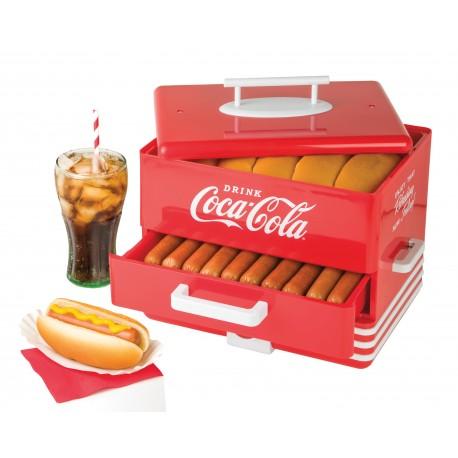 Nostalgia Vaporera para Hot Dogs Rojo - Envío Gratuito