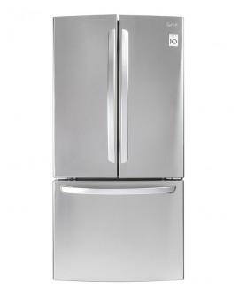 LG Refrigerador de 24 Pies cúbicos con 3 puertas Acero Inoxidable