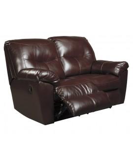 Ashley Furniture Loveseat doble Reclinable Kilzer (8470286) Café - Envío Gratuito