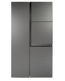 Daewoo Refrigerador de 29 Pies cúbicos Cube Plata