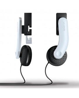 Bionik Mantis Premium Headphones para PS4 Blanco/Negro - Envío Gratuito