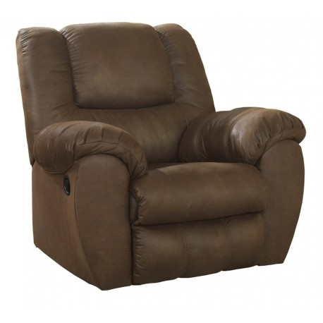Ashley Furniture Quarterback reclinable individual Café - Envío Gratuito