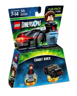 Lego Dimensions Knight Rider Fun Pack - Envío Gratuito