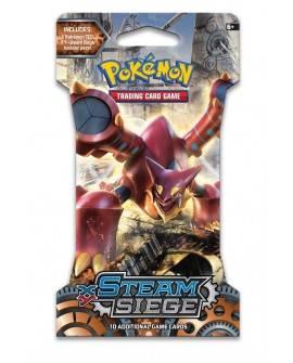 Pokémon TGC Steam Siege Booster sobre con 10 tarjetas Multicolor - Envío Gratuito